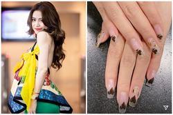 Sao Việt làm nail đón Tết: Ngọc Trinh sơn gel đơn giản - Hoàng Thùy Linh chuẩn người chơi hệ 'bài bạc'