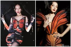 Đầm 'Cánh bướm dối gian' của Phí Phương Anh khiến netizen nhớ ngay bộ váy gây tranh cãi của Chi Pu