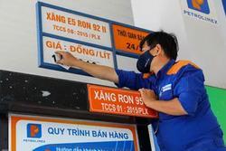 Giá xăng được giữ nguyên trước Tết Nguyên đán