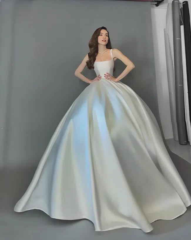 Hồ Ngọc Hà xinh đẹp diện váy cưới nhưng lộ khuyết điểm cơ thể quá rõ ràng-2