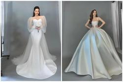 Hồ Ngọc Hà xinh đẹp diện váy cưới nhưng lộ khuyết điểm cơ thể quá rõ ràng