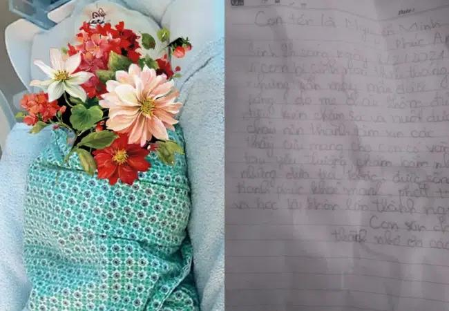 Bé sơ sinh bị bỏ rơi rạng sáng 29 Tết kèm bức thư nhắn gửi xé lòng của người thân-1