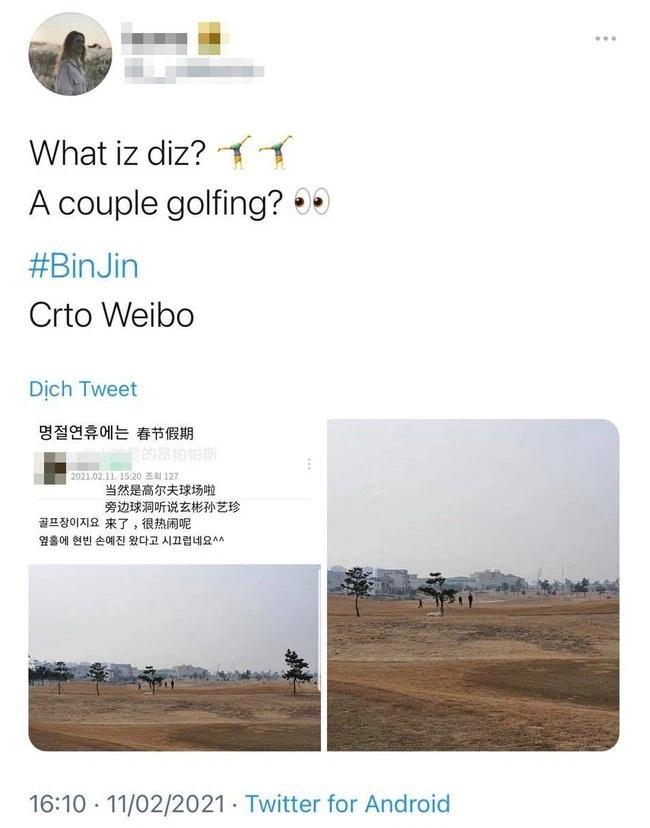 Hyun Bin và Son Ye Jin bị bắt gặp hẹn hò cùng nhau đi chơi golf ngày cuối cùng của năm?-1