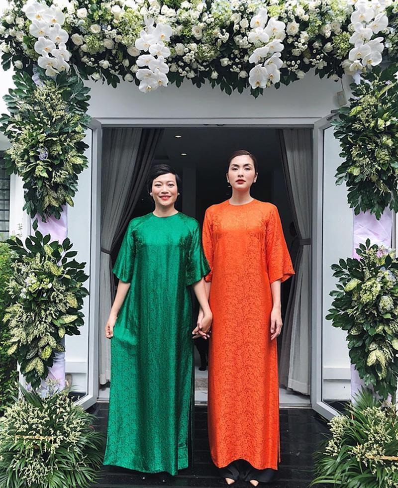 Mỗi năm diện áo dài Tết, Tăng Thanh Hà đều gây sốt mạng xã hội-4