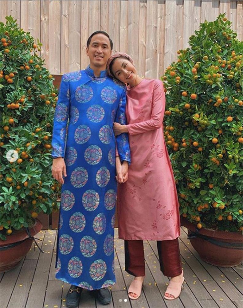 Mỗi năm diện áo dài Tết, Tăng Thanh Hà đều gây sốt mạng xã hội-7