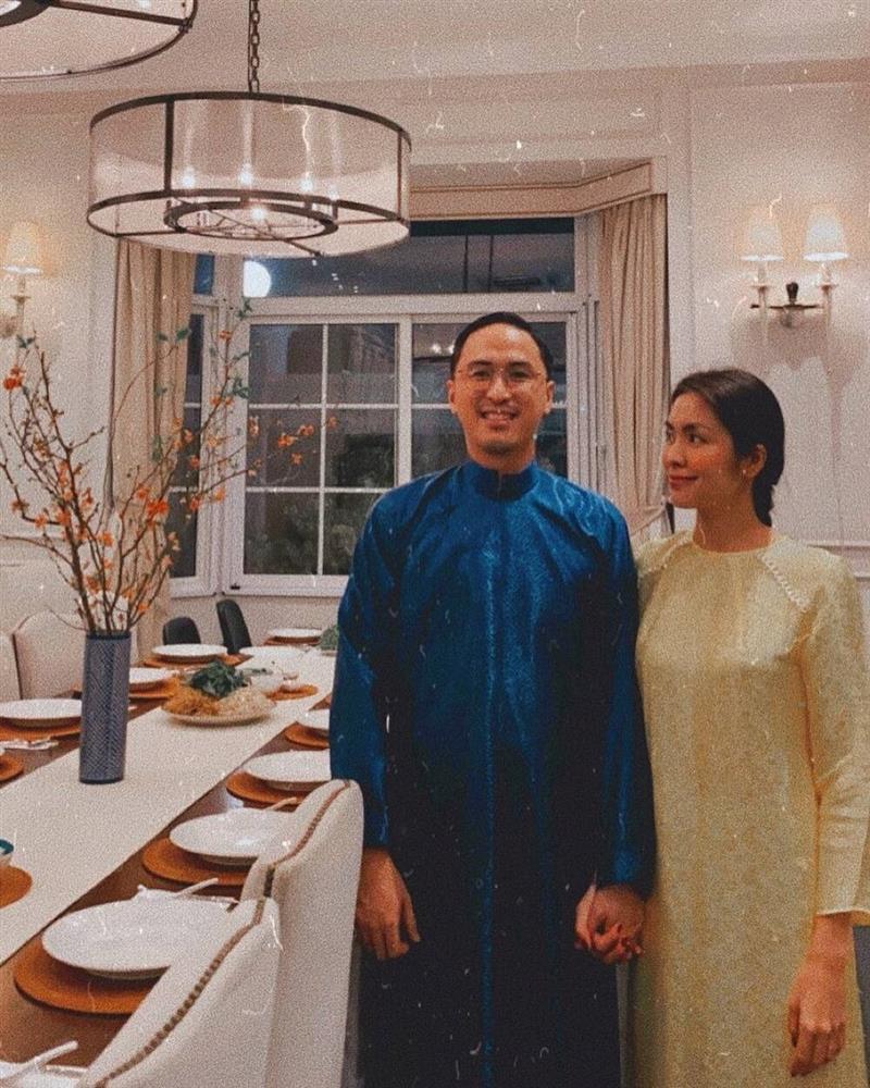 Mỗi năm diện áo dài Tết, Tăng Thanh Hà đều gây sốt mạng xã hội-8