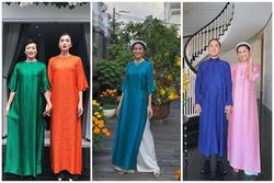 Mỗi năm diện áo dài Tết, Tăng Thanh Hà đều gây sốt mạng xã hội