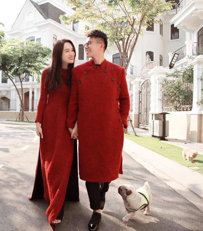 Hương Giang - Matt Liu và Lan Khuê - Tuấn John lên đồ rực rỡ nhất Tết Tân Sửu-1