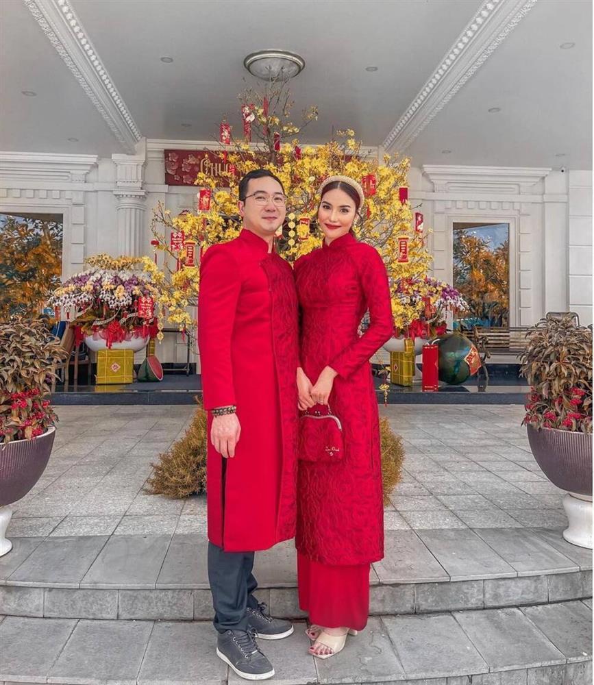 Hương Giang - Matt Liu và Lan Khuê - Tuấn John lên đồ rực rỡ nhất Tết Tân Sửu-2