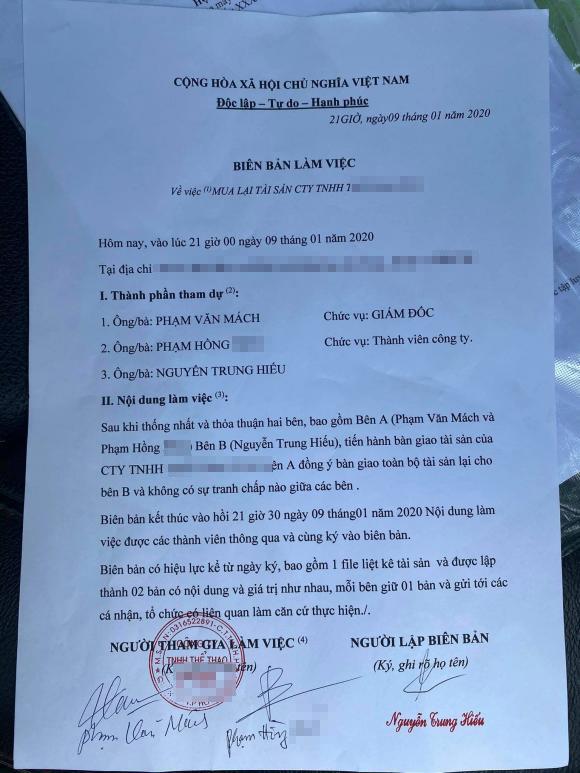 Bị tố lừa đảo, lực sĩ Phạm Văn Mách: Tôi làm việc có đầy đủ giấy tờ-2