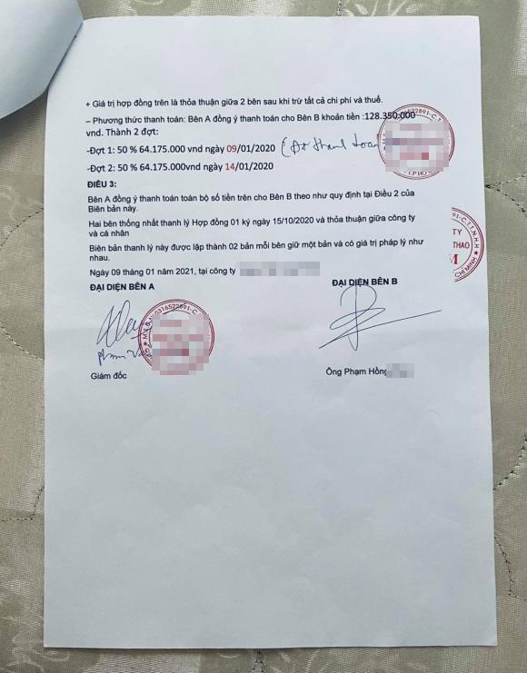 Bị tố lừa đảo, lực sĩ Phạm Văn Mách: Tôi làm việc có đầy đủ giấy tờ-3