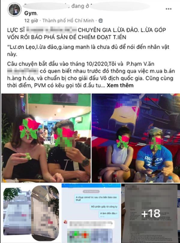 Bị tố lừa đảo, lực sĩ Phạm Văn Mách: Tôi làm việc có đầy đủ giấy tờ-1