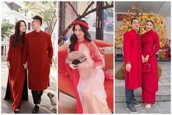Hương Giang - Matt Liu và Lan Khuê - Tuấn John lên đồ rực rỡ nhất Tết Tân Sửu