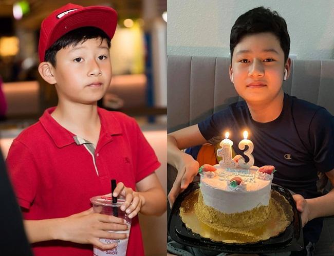 Con trai Quang Dũng - Jennifer Phạm trổ mã nhận không ra-3