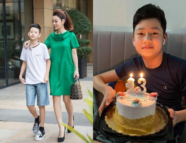 Con trai Quang Dũng - Jennifer Phạm trổ mã nhận không ra-4