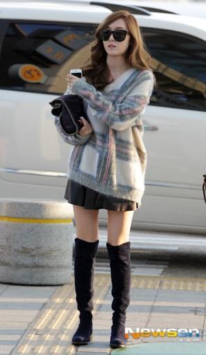 Tìm cả Kbiz, đố ai qua được thời trang sân bay của Jessica: Gần chục năm nhìn lại vẫn trendy-5