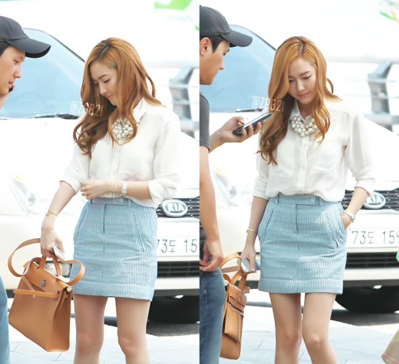Tìm cả Kbiz, đố ai qua được thời trang sân bay của Jessica: Gần chục năm nhìn lại vẫn trendy-6