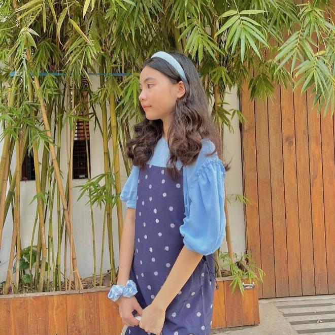 Con út nhà MC Quyền Linh tung ảnh năm mới cực xinh-7