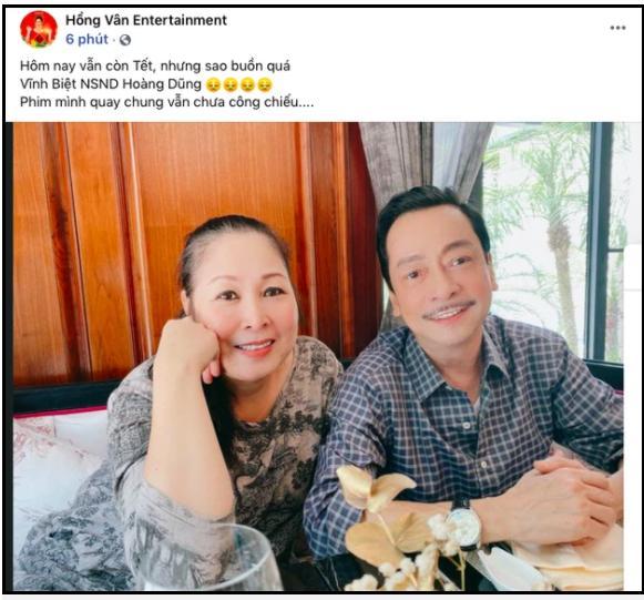 Dàn sao Việt bàng hoàng khi hay tin NSND Hoàng Dũng qua đời-1