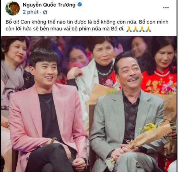 Dàn sao Việt bàng hoàng khi hay tin NSND Hoàng Dũng qua đời-4