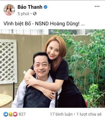 Dàn sao Việt bàng hoàng khi hay tin NSND Hoàng Dũng qua đời-7