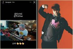 Binz 'nhá hàng' sản phẩm âm nhạc mới, sẽ kết hợp cùng Touliver và một cậu học trò cưng tại Rap Việt?
