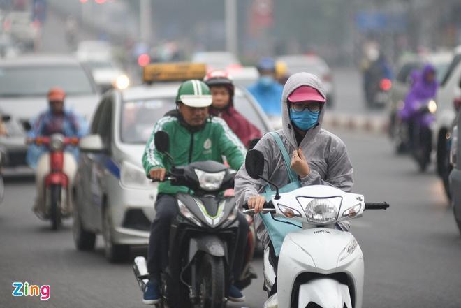 Người Hà Nội đi làm lại có thể gặp mưa phùn, gió rét-1