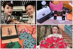 Bảo Thy - Linh Chi và loạt mỹ nhân khoe quà Valentine toàn đồ hiệu, căn hộ đắt đỏ
