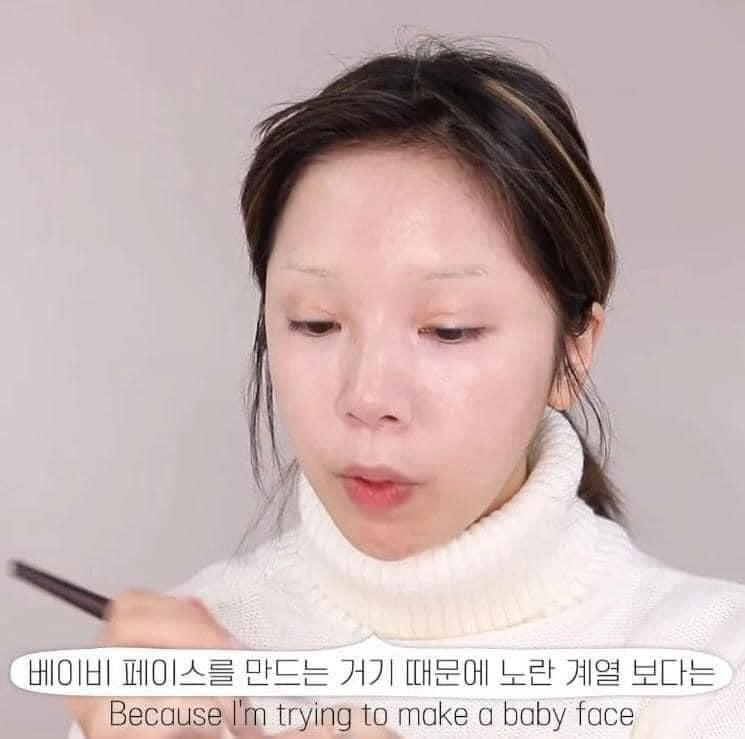 Màn makeup thành em bé của Youtuber Hàn khiến cư dân mạng khóc thét-1
