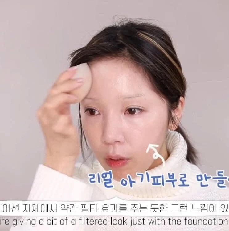 Màn makeup thành em bé của Youtuber Hàn khiến cư dân mạng khóc thét-2