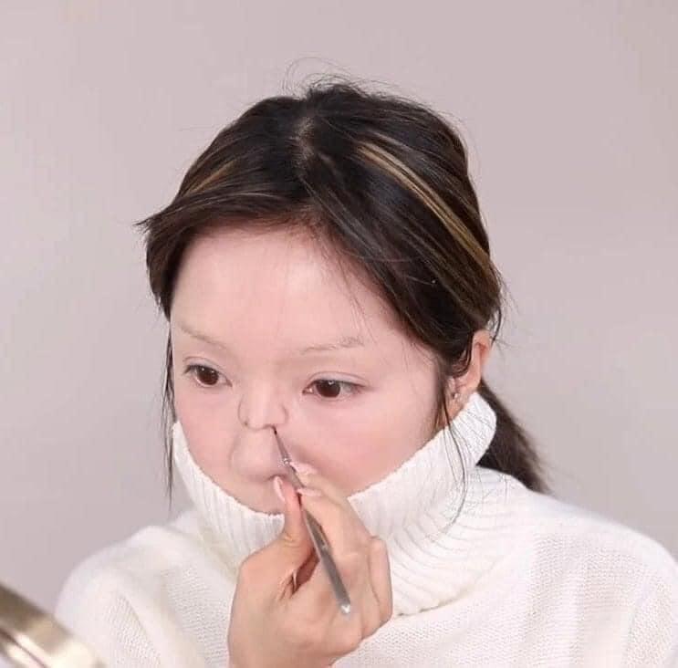Màn makeup thành em bé của Youtuber Hàn khiến cư dân mạng khóc thét-5
