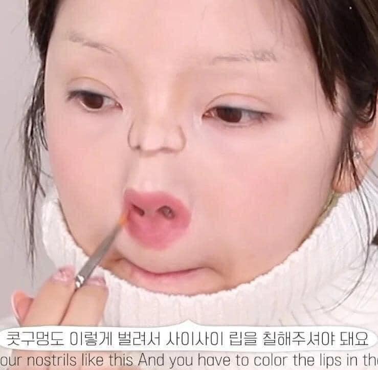 Màn makeup thành em bé của Youtuber Hàn khiến cư dân mạng khóc thét-6