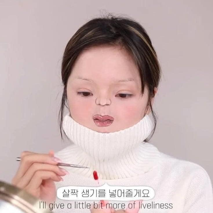 Màn makeup thành em bé của Youtuber Hàn khiến cư dân mạng khóc thét-7