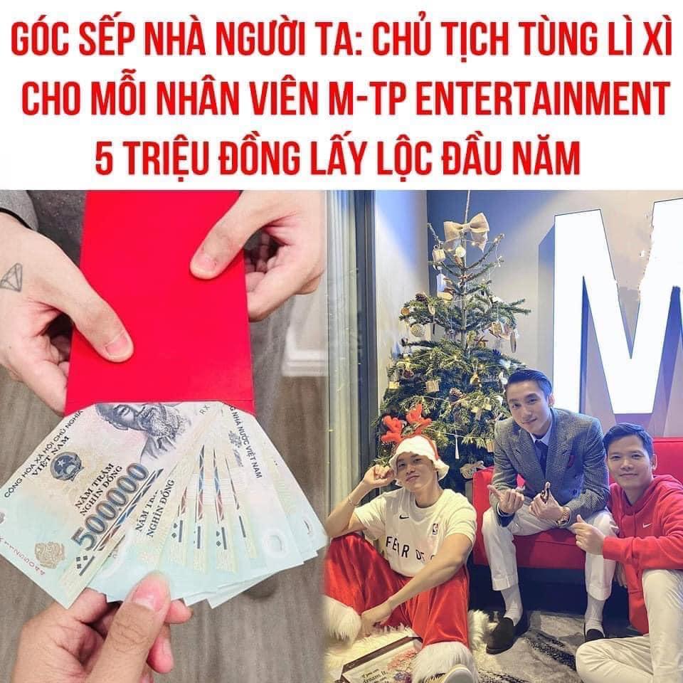 Sơn Tùng lộ tài khoản ngân hàng, fan liên tiếp chuyển tiền mừng Sếp uống trà xanh-5