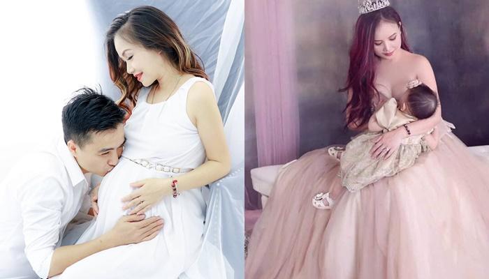 Cuộc đời 2 con gái xinh đẹp của cô Xuyến Hoàng Yến-2