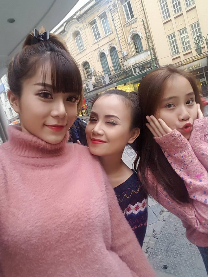 Cuộc đời 2 con gái xinh đẹp của cô Xuyến Hoàng Yến-9
