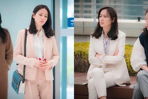 Song Hye Kyo, Son Ye Jin và các sao U40 sẽ chỉ cho nàng công sở kiểu suit diện lên trẻ trung nhất-1