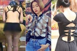 Người phụ nữ nghiện thả rông lăng xê mốt quên áo ngực check-in chốn tâm linh