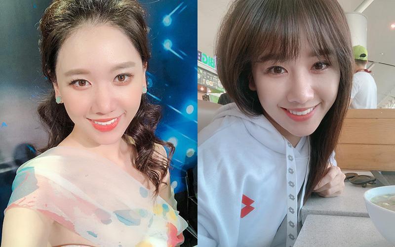 Học Hari Won, Thiều Bảo Trâm 3 kiểu tóc mái giúp giấu nhẹm vầng trán sân bay-2