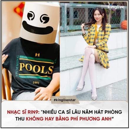Netizen phẫn nộ RIN9 khen Phí Phương Anh hát trong phòng thu hay hơn nhiều ca sĩ lâu năm-4
