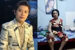 Nghệ sĩ Hoàng Lan bị hoại tử cột sống, mù một bên mắt