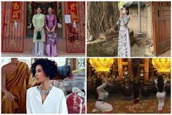 Sao Việt lên đồ đi lễ chùa: Người được khen - kẻ bị 'ném đá'