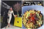 Tóc Tiên tiết lộ cách 'dọn tủ lạnh' sau Tết: Toàn là món ngon
