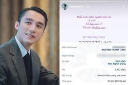 Sơn Tùng lộ tài khoản ngân hàng, fan liên tiếp chuyển tiền mừng Sếp uống 'trà xanh'