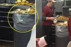 Rùng mình với cảnh chế biến đồ ăn mất vệ sinh tại nhà hàng, đánh đố thực khách