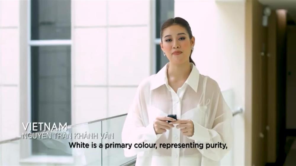 Khánh Vân bị ném đá vì nói tiếng Việt trong clip của Miss Universe-1