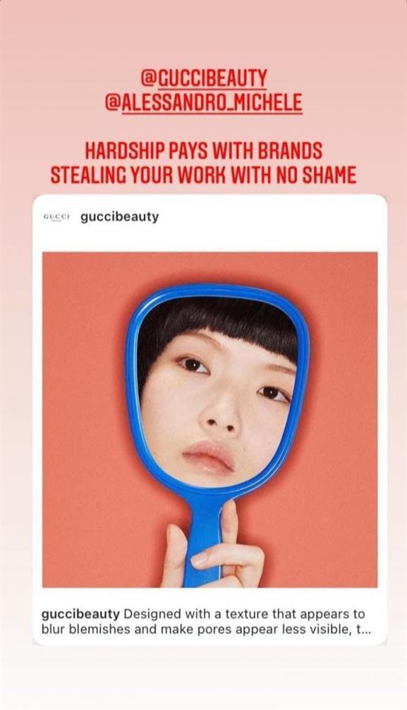 Gucci bị tố ăn cắp ý tưởng nghệ sĩ Việt, nhìn ảnh gốc mới thấy hàng fake quá phèn-2