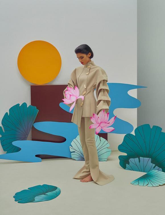 Gucci bị tố ăn cắp ý tưởng nghệ sĩ Việt, nhìn ảnh gốc mới thấy hàng fake quá phèn-9