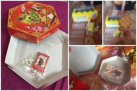 Những pha hí hửng bóc hộp quà Tết nhưng kết quả nhận về lại 'đắng chát'