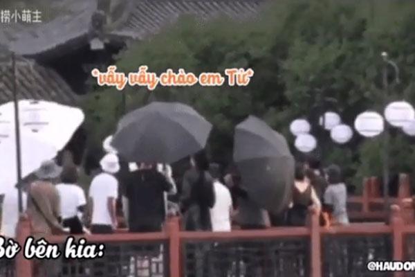 Dương Tử la làng khi phát hiện La Vân Hi quay phim chung chỗ, bỏ quên Trần Phi Vũ luôn!-1